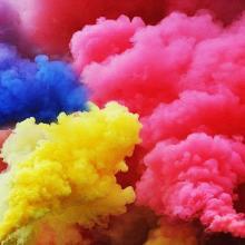 Дымы цветные