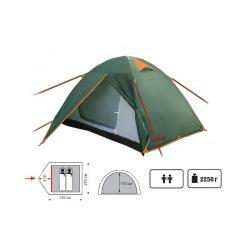 Палатка Totem Trek 2-х местная