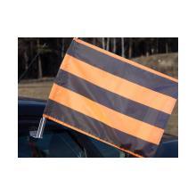 Флаг Георгиевский на автомобильном флагштоке