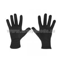 Перчатки х/б парадные черные (р-р 20)