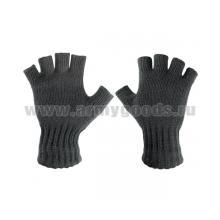 Перчатки п/ш черные с обрезанными пальцами