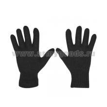 Перчатки п/ш одинарные черн. (р-р 20)