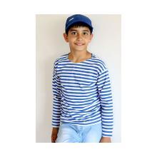Тельняшка детская с голубой полосой