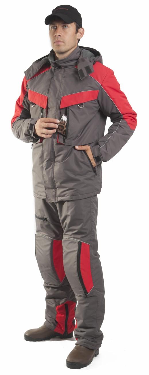 костюм рыбака флис